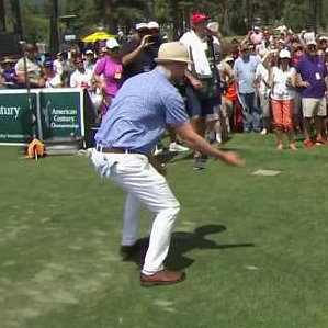 "Watch Justin Timberlake and Alfonso Ribeiro Do ""The C"