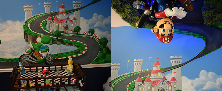 You Should Be Jealous of the Baby Who Gets to Live in This Mario Kart Nursery