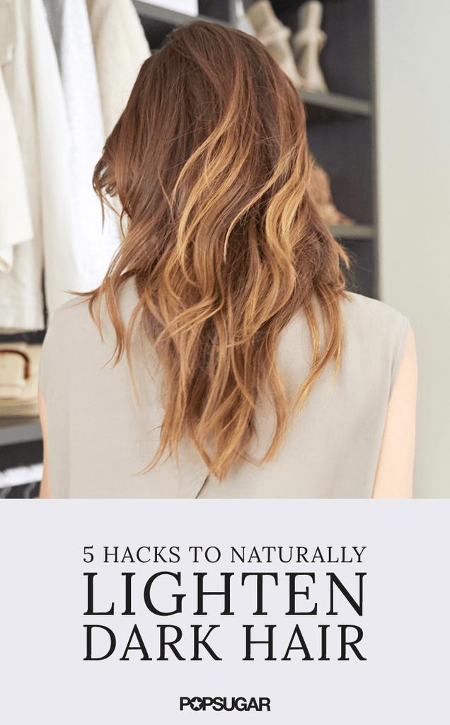 How To Lighten Hair Naturally With Salt