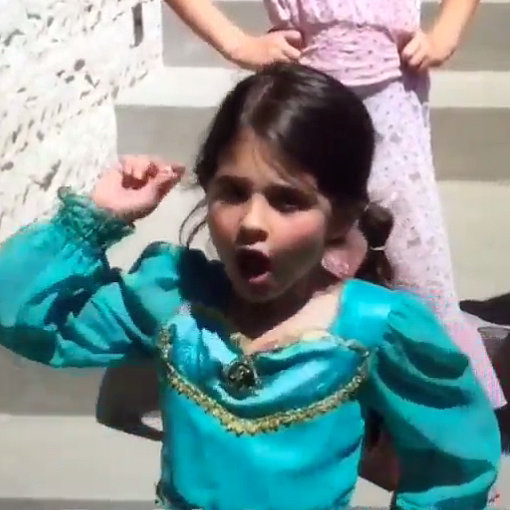 Sarah Michelle Gellar Shares Charlotte's Princess Rap Video