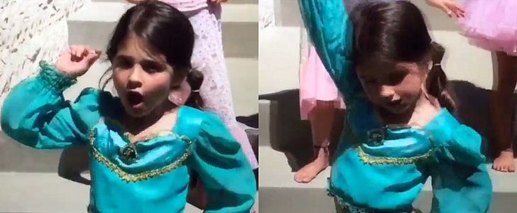 SMG's Beautiful Daughter Is a Sassy Princess Jasmine in Her Rap Video