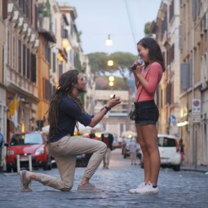 Man Dedicates Proposal to Girlfriend's Late Father Video