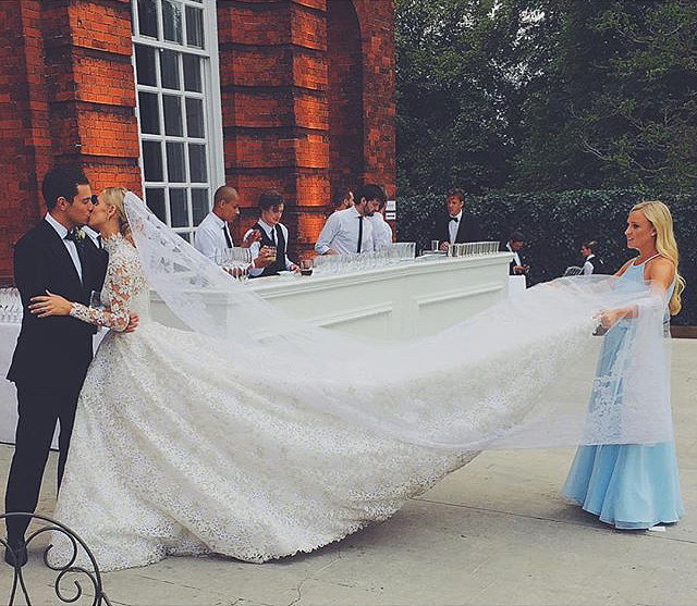 Nicky Hilton's luxe Kensington Palace wedding to James Rothschild took place in July 2015.