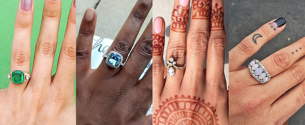 44 Real-Girl Engagement Rings So Unique Everyone Will Be in Awe