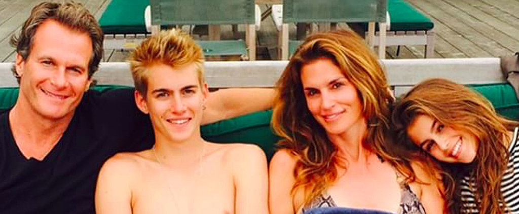 You'll Want to Join Cindy Crawford's Family's Lake Vacation After Seeing These Snaps