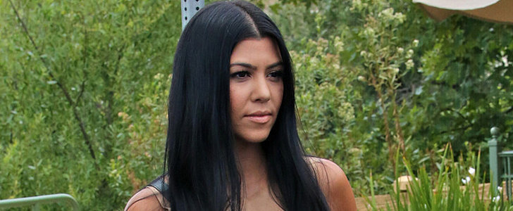 Kourtney Kardashian Shows Some Leg on Her Cute Family Outing