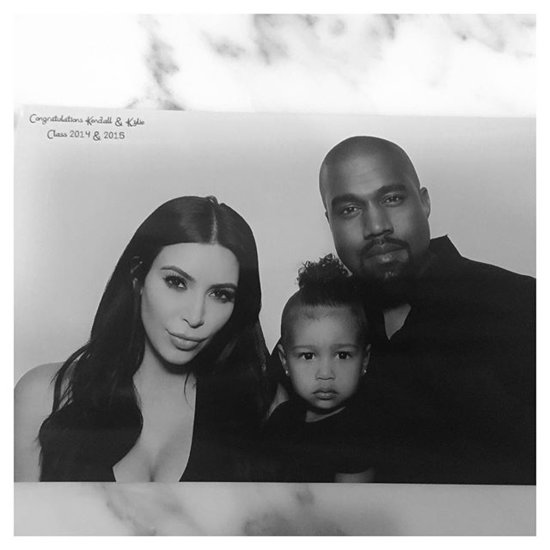 North West Is Undeniably Cute in New Family Photos, Sneaks M&M's in Between Shots
