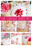 Go Pink Or Go Home With This Flamingo Theme Birthday Party