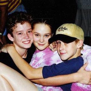 Justin Timberlake and Ryan Gosling Throwback Picture