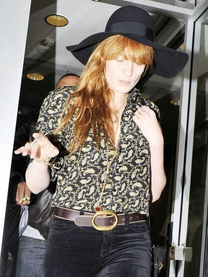 Florence Welch Just Won '70s Inspired Style