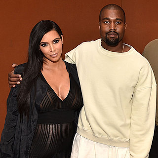Kim Kardashian's Baby Bump Is Front and Centr