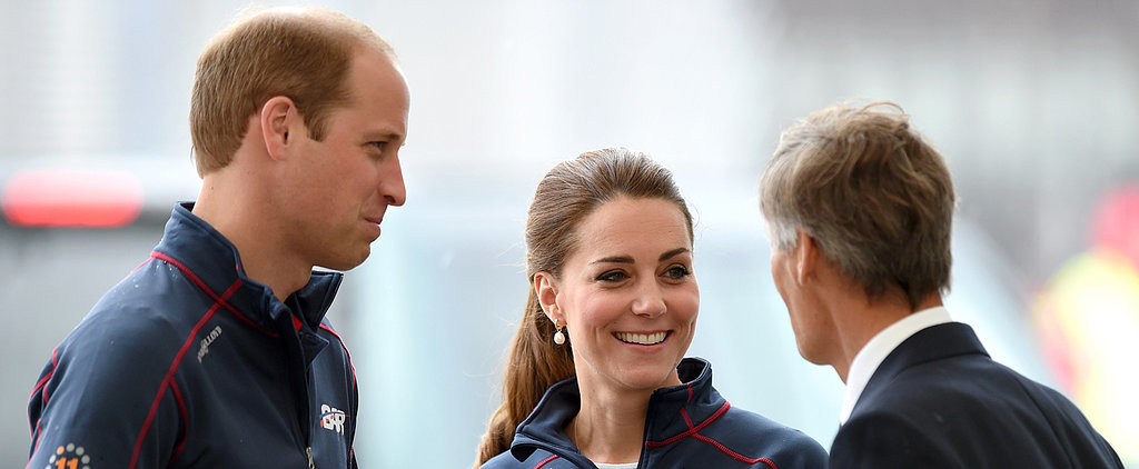 Kate Middleton and Prince William Don't Let Bad Weather Steal Their Royal Cheer