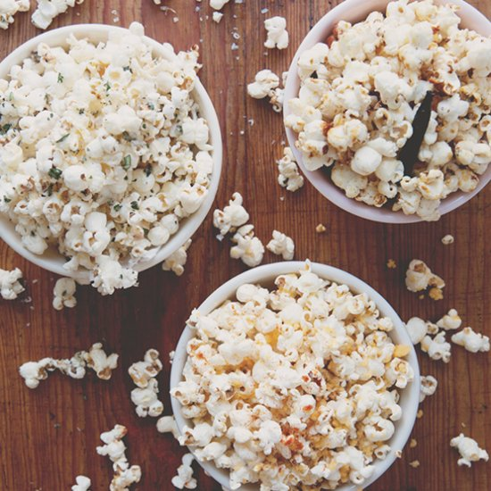 3 Easy Ways to Dress Up Popcorn