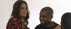 Watch Kanye West Show Sweet Support For Caitlyn Jenner at Their First Meeting