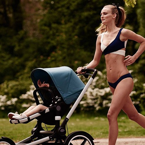 Bugaboo Ad Featuring Model in Bikini