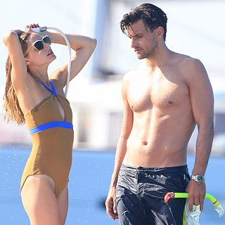 Olivia Palermo and Johannes Huebl in Ibiza Pictures