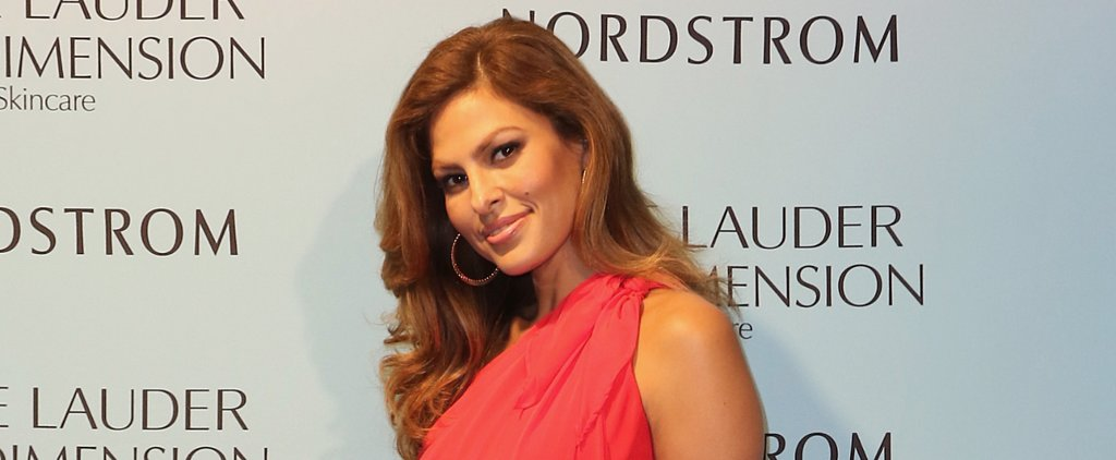 Eva Mendes Has the Most Amazing Cheekbones — That's All We Have to Say