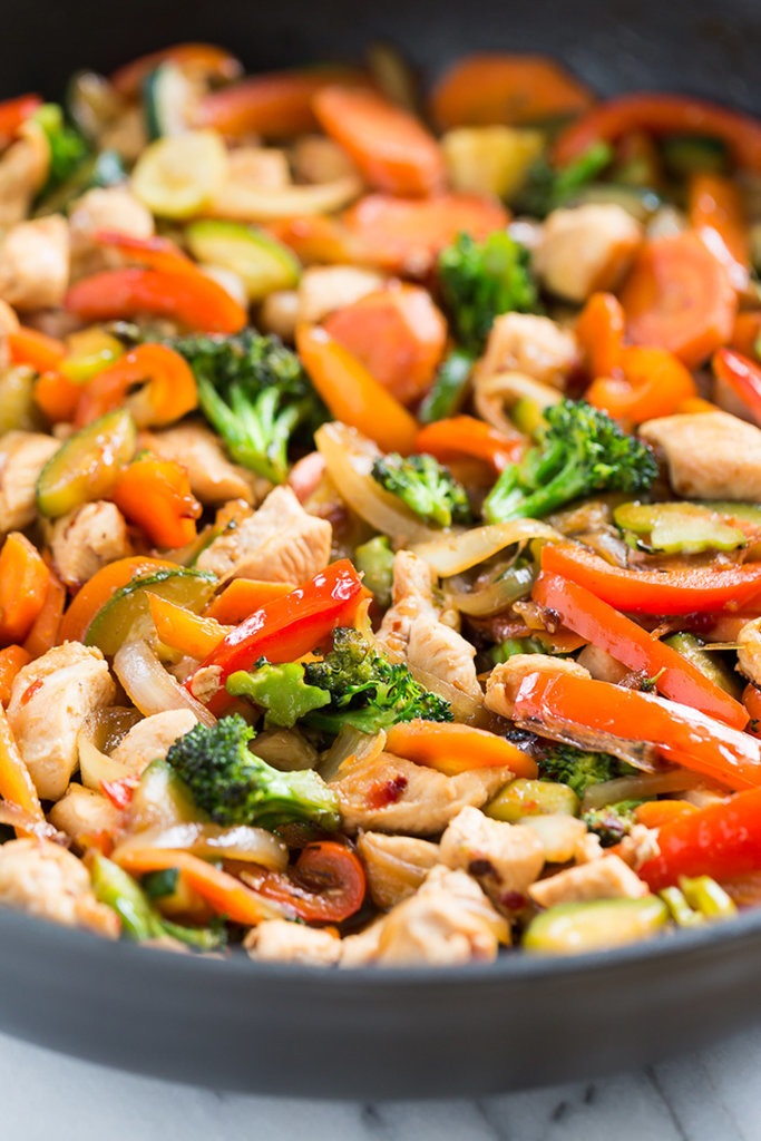 Sweet Chili Chicken Stir-Fry