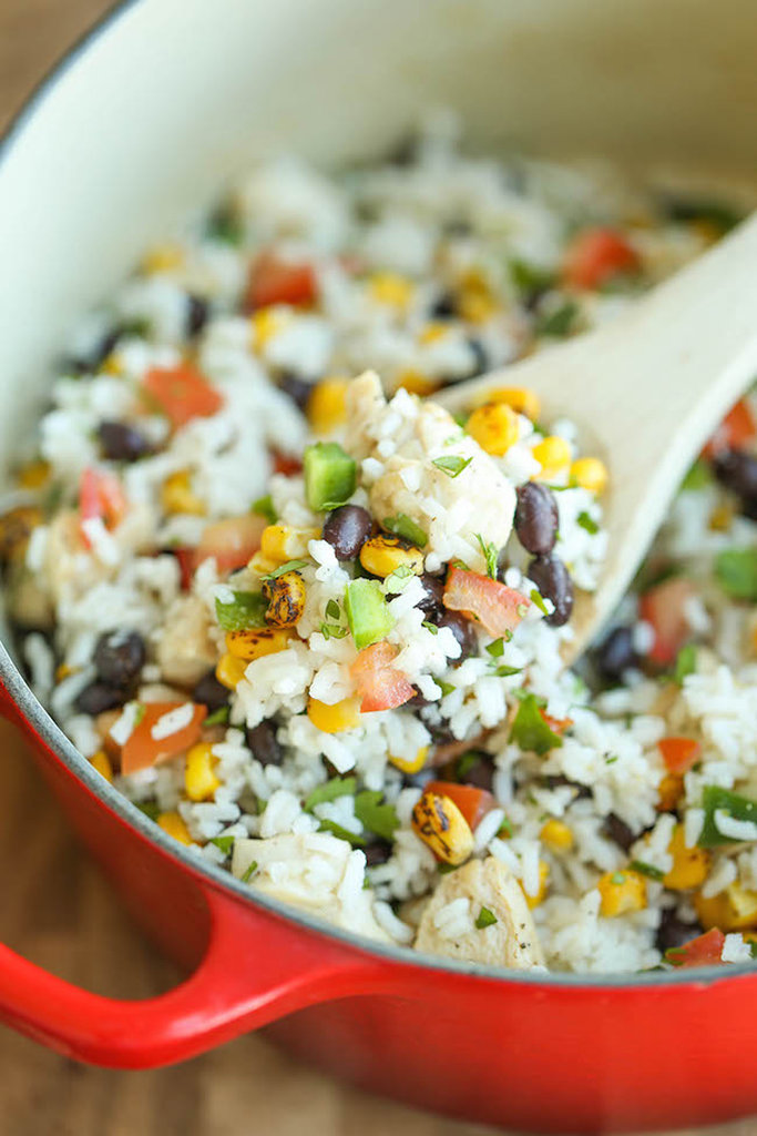 One-Pot Beans, Chicken, and Rice