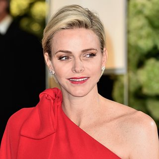 Princess Charlene of Monaco Jumpsuit Red Cross Ball
