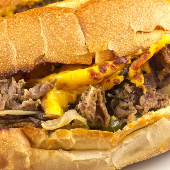 The Philly Cheesesteak Meets Korean Fare in This Epic Sandwich