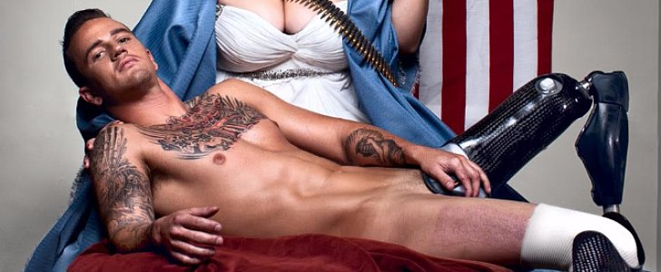 You'll Be in Awe of These Sexy and Strong Photos of Stripped-Down Veterans