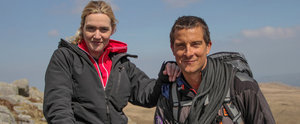 That Time Kate Winslet Re-Created Her Iconic Titanic Scene With Bear Grylls