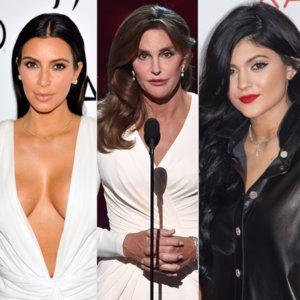 Kim Kardashian Kylie and Caitlyn Jenner Evolutions