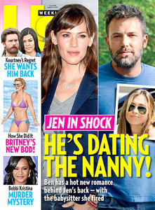 US Weekly reports that Ben Affleck has been dating the nanny