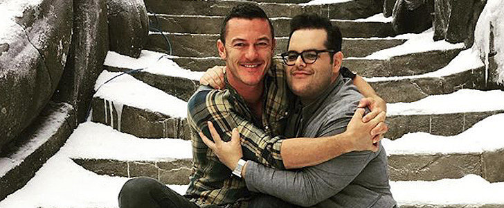 Josh Gad Shared a Picture From the Beauty and the Beast Set, and We're Freaking Out