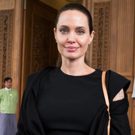 Angelina Jolie Is on a Humanitarian Service Trip in Myanmar