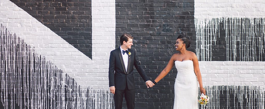 This Contemporary Wedding Has the Coolest Venue Ever