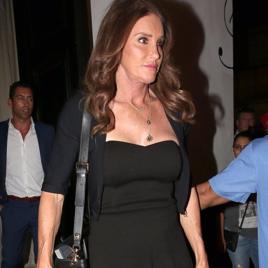 Caitlyn Jenner Wearing Black Jumpsuit