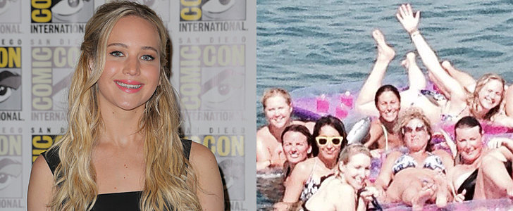 Best Duo Ever? Jennifer Lawrence and Amy Schumer Do a Beach Day