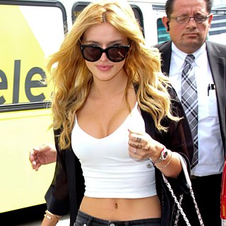 Bella Thorne in Crop Tops