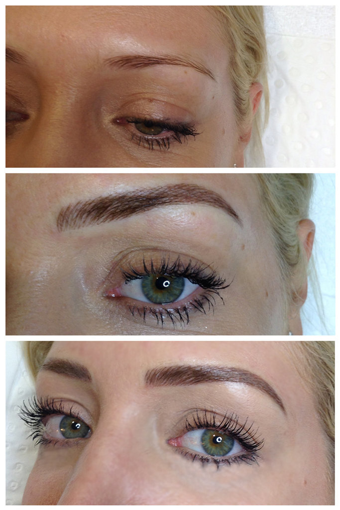 Hare Are My Brows After My First Touch Up Appointment At
