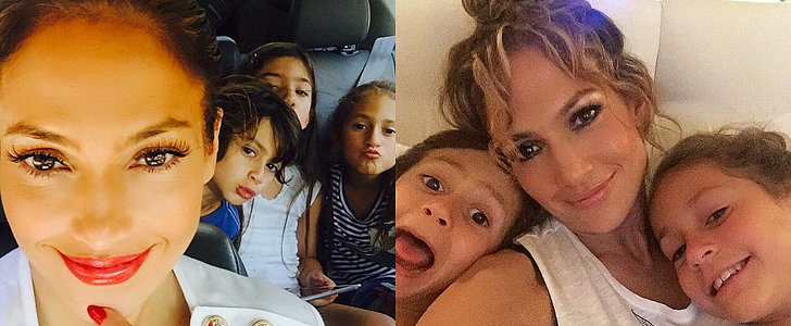 The Cutest Pictures of Jennifer Lopez and Her Adorable Kids