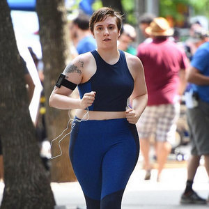We're Loving Lena Dunham and Danielle Brooks' Body-Confident Sports Bra Pics