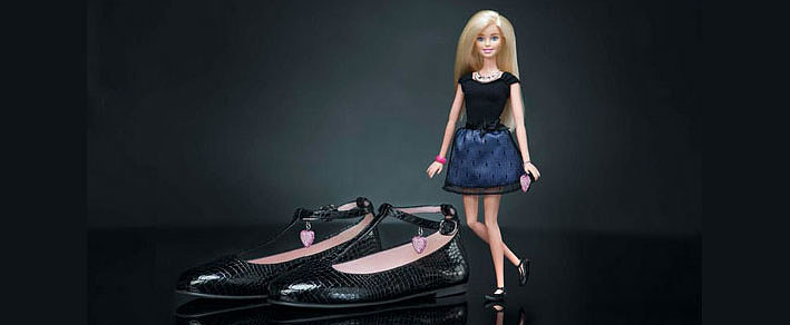 Dressing in Barbie's Shoes Just Became a Reality
