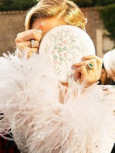 Look at Jewelry Designer Sabine Ghanem's Stunning Wedding Couture