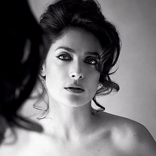 Salma Hayek Topless in Allure Au