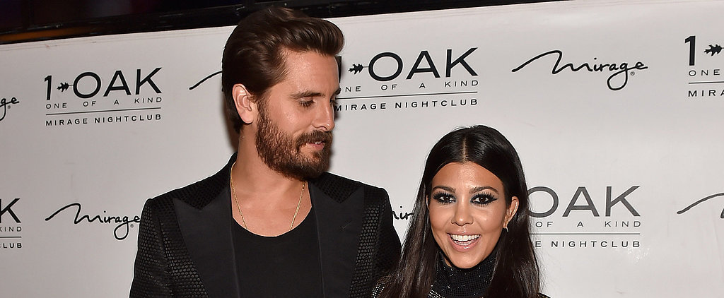 "Scott Disick Realizes the ""Grass Isn't Always Greener"" While Solo at a Friend's Wedding"