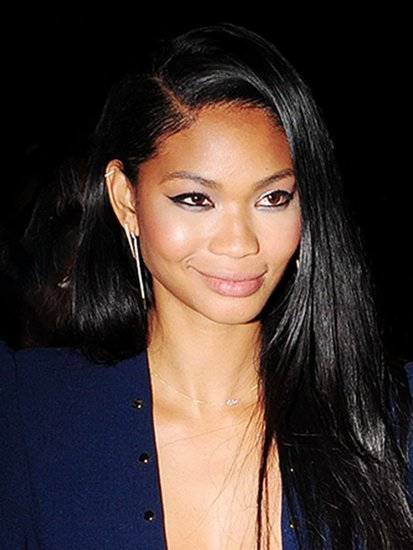 Chanel Iman Totally Rocks a Jumpsuit on a Night Out