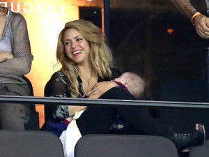 Shakira's Son Sasha Is Already Mastering Soccer at 6 Months