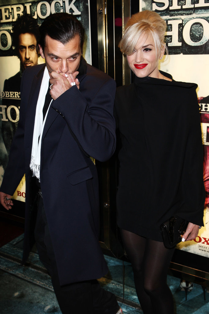 Gwen and Gavin attended an afterparty following the world premiere of Sherlock Holmes in London in December 2009.