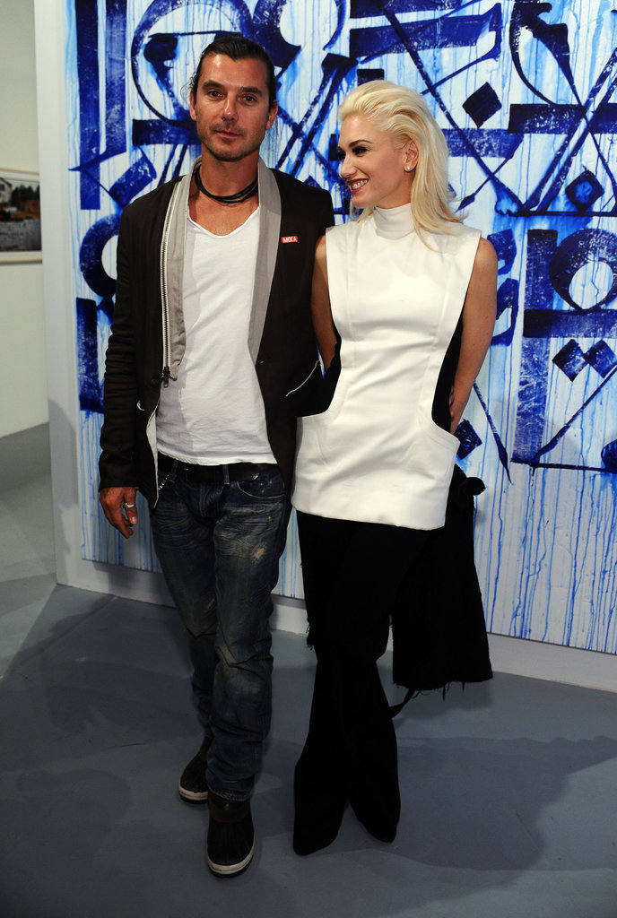 Gavin and Gwen attended a MOCA event in April 2011 in LA.
