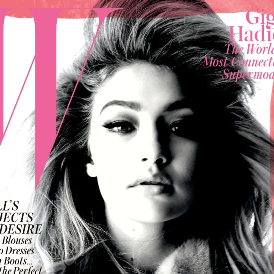 Gigi Hadid's W Magazine Cover September 2015