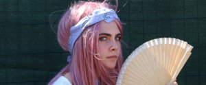 Cara Delevingne Rocks a Pink Wig While Watching Her Girlfriend Perform