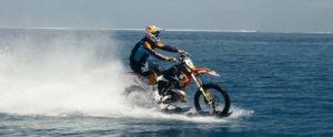 Watch a Hot Aussie Stunt Rider Hang 10 on a Dirt Bike