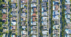 Photographer Highlights Income Inequality With Aerial Photos Of LA Neighborhoods